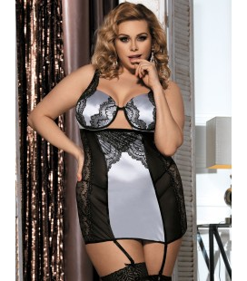 plus size lingerie Plus Size Tempting Dress With Underwire