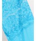 plus size lingerie Blue Plus Size Babydoll
