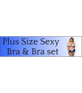 Plus Size Bra & Bra set